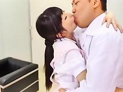 Crazy Japanese whore Arisa Nakano, Chika Arimura, Yuu Shinoda in Horny Doggy Style JAV video