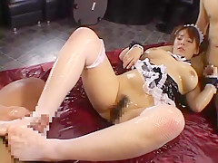 Hottest Japanese model Risa Takagi in Fabulous Lingerie, Fetish JAV movie