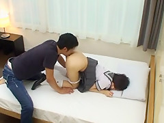 Amazing Japanese model Mizuho Uehara in Best College/Gakuseifuku, POV JAV clip