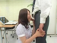 Crazy Japanese girl Chisato Ayukawa in Amazing Doggy Style, Hairy JAV scene