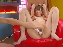 Horny Japanese model Yu Asakura in Crazy Skinny, Small Tits JAV scene