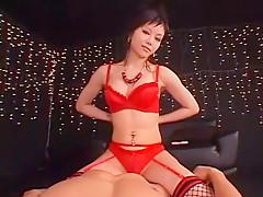 Best Japanese chick Anna Akizuki in Fabulous Cougar, Stockings/Pansuto JAV clip