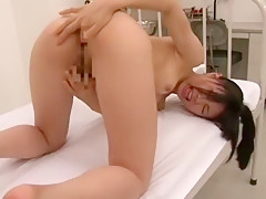 Horny Japanese girl Miku Shindo in Incredible Skinny, Doggy Style JAV movie