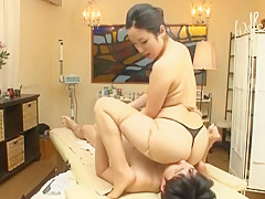 Crazy Japanese chick Mika Mizuno, Sakura Anna in Hottest Massage JAV clip