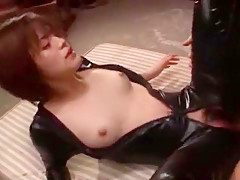 Exotic Japanese whore Azusa Itagaki in Amazing Latex, Rimming JAV video
