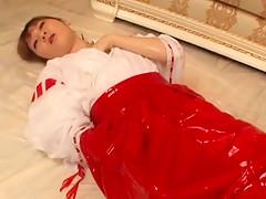Crazy Japanese slut Saya Yukimi, Saki Tsuji, Hikaru Hozuki in Incredible Solo Girl, Dildos/Toys JAV clip