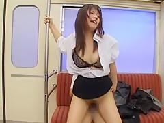 Crazy Japanese whore Akane Ozora in Exotic MILFs JAV video