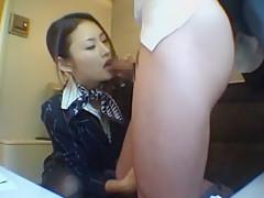 Crazy Japanese slut Risa Murakami, Arisa Chigasaki, Yui Uehara in Exotic MILFs, Blowjob/Fera JAV scene