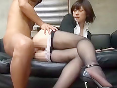 Amazing Japanese model Shinobu Kasagi in Best Doggy Style, Cunnilingus JAV movie
