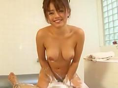 Amazing Japanese chick in Hottest Massage, POV JAV clip