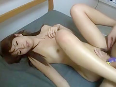 Crazy Japanese model Kana Sugiura in Hottest Doggy Style JAV movie