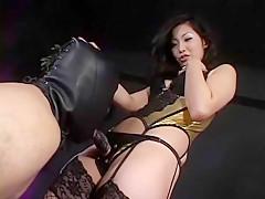 Masshiro Neko in BEST Volume.2 Sexual Feeling Strap-on Dildo Of The Queen