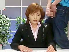 Amazing Japanese slut Reiko Makihara, Aki Tomosaki, Ryoko Mizusaki in Exotic Facial, Interview JAV movie