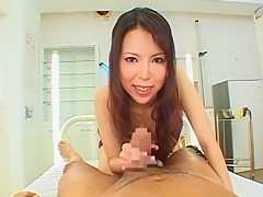Hottest Japanese slut Rino Asuka in Crazy POV, Hairy JAV movie