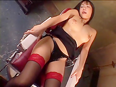 Hottest Japanese model Riho Matsuoka, Mami Gotoh, Shizuku Tsukino in Exotic Big Tits, Stockings/Pansuto JAV movie