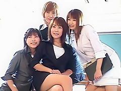 Horny Japanese whore Kirari Koizumi, Airi Niiyama, Miri Sugihara in Exotic JAV movie