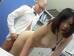 Crazy Japanese model Mei Akizuki in Exotic Cunnilingus, Doggy Style JAV scene