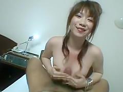 Exotic Japanese chick Yuri Satsuki, Kasumi Uehara, Rin Nonomiya in Amazing Handjobs, POV JAV scene