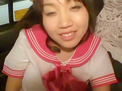 Incredible Japanese whore Kokoro Hanano in Hottest Car, College/Gakuseifuku JAV clip