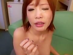 Fabulous Japanese model Rin Momoka in Amazing Facial, Gangbang JAV video