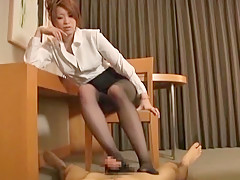 Horny Japanese girl Seira Moroboshi in Fabulous Censored, Foot Job/Ashifechi JAV clip