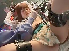 Exotic Japanese whore Rei Mizuna in Hottest Threesomes, BDSM JAV video