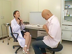 Crazy Japanese chick Mieko Arai in Best Striptease JAV scene