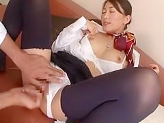 Horny Japanese whore Aoki Misora in Best Doggy Style, Fetish JAV clip