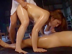 Horny Japanese model Shiori Kamisaki in Hottest Gangbang, Creampie/Nakadashi JAV video
