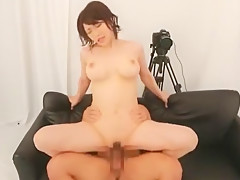Crazy Japanese girl Anri Okita in Hottest Public, Cunnilingus JAV clip