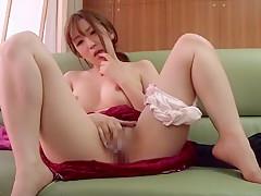 Fabulous Japanese whore Rin Kashiwagi, Nina in Crazy Cumshots JAV video