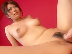 Exotic Japanese girl Maki Kanade in Amazing Big Tits JAV clip