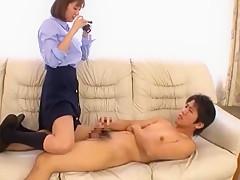 Horny Japanese chick Yuma Asami in Fabulous JAV scene