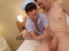 Exotic Japanese slut Rei Mizuna in Incredible Stockings/Pansuto, Nurse/Naasu JAV movie