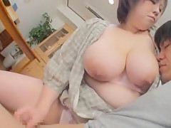 Hottest Japanese slut Mayu Koizumi in Crazy Big Tits, Blowjob/Fera JAV scene