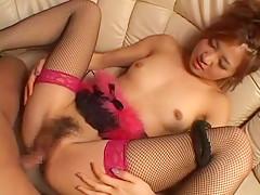 Horny Japanese girl Kaori Ayukawa in Hottest Small Tits, Fingering JAV movie