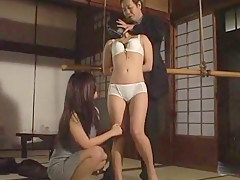 Crazy Japanese slut Hitomi Hayasaka in Amazing BDSM JAV movie