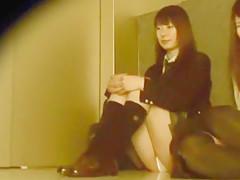 Hottest Japanese chick Koharu Yuzuki, Aika Nose, Mahiro Aine in Incredible Upskirts/Panchira, Teens JAV scene