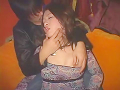 Crazy Japanese chick in Hottest Wife JAV movie