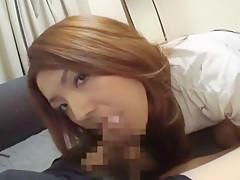 Best Japanese model Rio Takahashi in Incredible Blowjob/Fera, Girlfriend JAV scene