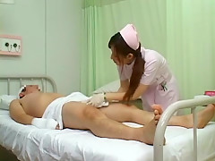 Horny Japanese chick Hinata Komine, Luna Kanzaki, Nozomi Osawa in Amazing Nurse/Naasu, Voyeur JAV scene