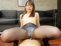 Hottest Japanese whore Riria Mikoto in Best Secretary, Cumshots JAV clip