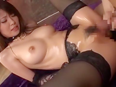 Incredible Japanese slut Miho Imamura in Amazing Fetish, Fingering JAV movie