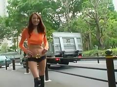 Best Japanese model Emiri Sakurai in Fabulous Outdoor, Voyeur JAV movie
