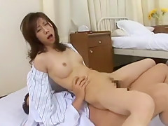 Exotic Japanese girl Misuzu Shiratori in Incredible Public, Medical JAV clip