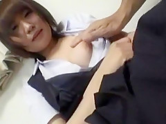 Horny Japanese chick Rika Nanase in Crazy Teens JAV clip