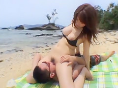 Amazing Japanese slut Shizuku Natsukawa in Hottest Girlfriend, Outdoor JAV movie