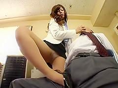 Fujisaki Kuroe in Chloe Fujisaki M 3 Man Accused Employees Of Anger Beauty Secretary