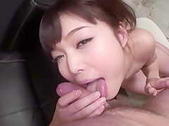 Amazing Japanese girl Megumi Shino in Hottest JAV uncensored Blowjob clip