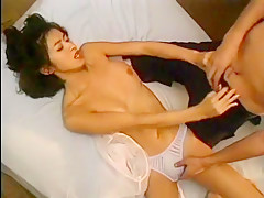 Fabulous Japanese girl Akari Hoshino, Mirai Hirooka, Rei Kitajima in Best Vintage, Medical JAV video